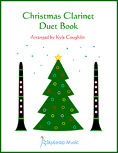 The Christmas Clarinet Duet Book, by Kyle Coughlin
